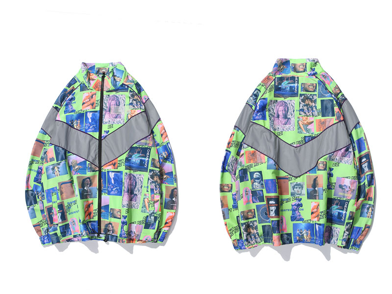 3M Reflective Stripe Creative Printed Jackets 2