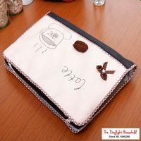 Coffee Design Elastic Laptop Screen Dust Proof Cover LED Computer Cover Set Anti Dust Protective