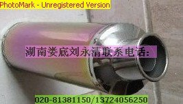400 import vehicle emission exhaust pipe Endian rainbow chameleon