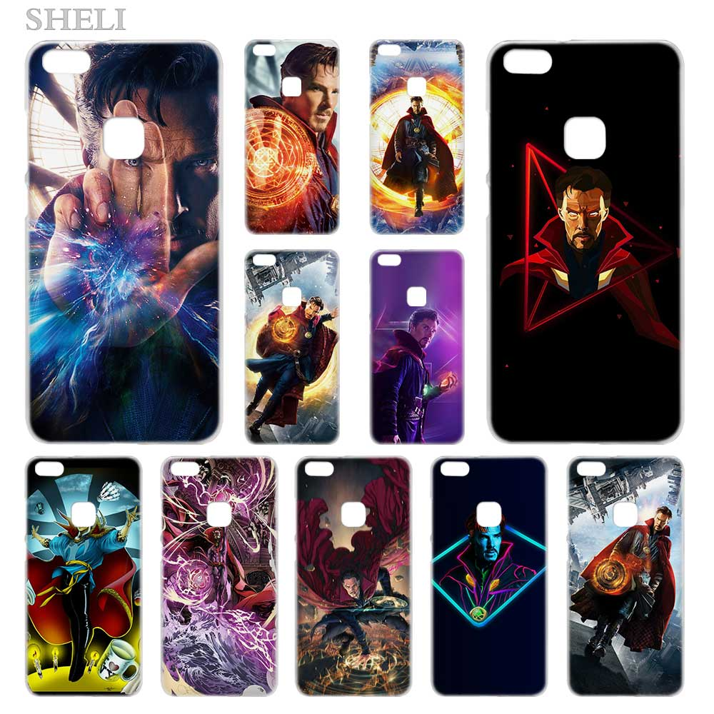 Tireless Sheli Dr Doctor Strange Anime Transparent Hard Phone Case Cover For Huawei P8 P9 P10 P20 Lite 2017 Plus Pro Mate 10 Phone Bags & Cases Cellphones & Telecommunications