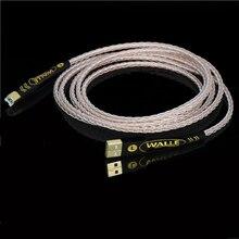 Hi-End 8N OCC посеребренный USB аудио кабель для передачи данных USB кабель DAC USB hifi кабель A-B usb кабель