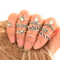 ring on every finger