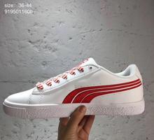 2026db358 Nueva llegada 2017 Puma x BTS smash de Zapatos transpirable sneakers  Zapatillas de bádminton 6 color