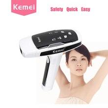 Kemei depilador лазерный черный лазерная эпиляция машина фотон эпиляция устройство женский фотон лица лазерная lazer epilasyon(China (Mainland))