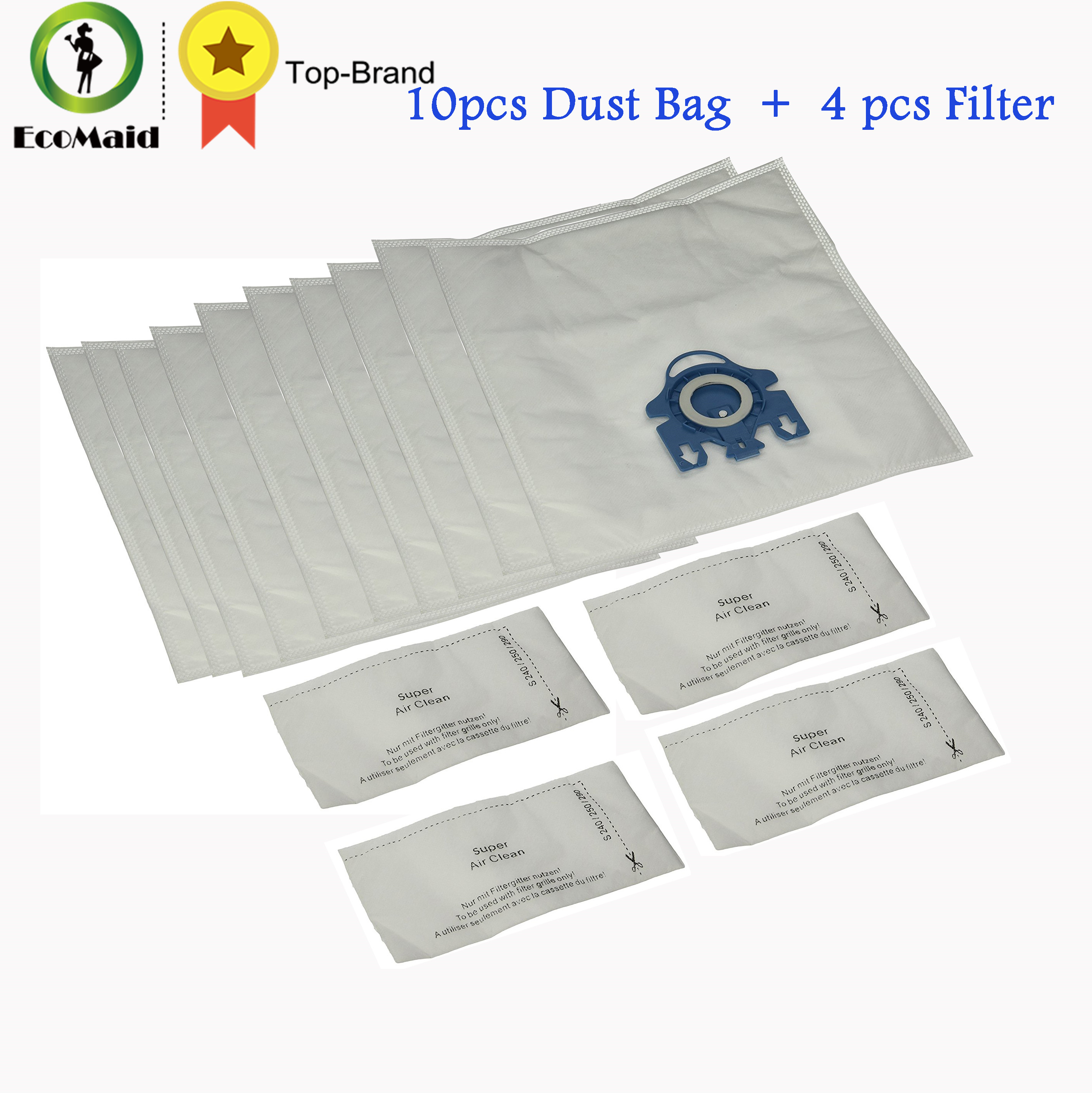 Dust Bag for Miele Vacuum Cleaner GN Type Vacuum Rubbish Bag Hoover Cat Dog Dust Bag Filter 10pcs + 4 Filters оправа boss orange boss orange bo456dmuae36