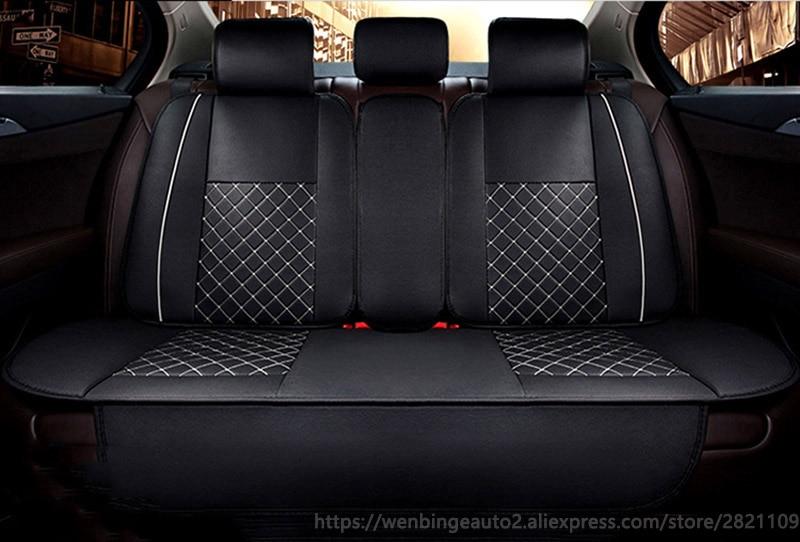 Только автомобильные задние чехлы на сиденья для Nissan Qashqai Note Murano March Teana Tiida Almera X-trai авто аксессуары Автомобильные наклейки для стайлинга авт...
