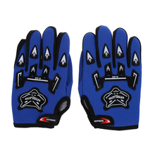 Pair Bicycle Bike Cycling Motorcycle Full Finger Gloves