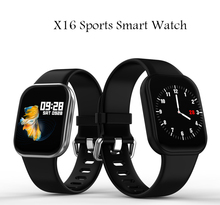 X16 TFT Full Touch Smart Watch Heart Rate Blood Pressure Sleep Monitor Smartwatch Waterproof Sport Band For xiaomi IOS