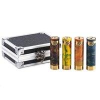Smokjoy Honor Resin Mech Mod No 18650 Battery e cigarette Resin Box Mod Orange Black Yellow
