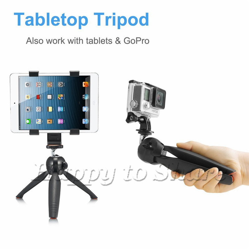 YUNTENG Monopod Öz Bluetooth Uzaktan Kablosuz Tripod Tutucu Kamera - Kamera ve Fotoğraf - Fotoğraf 5