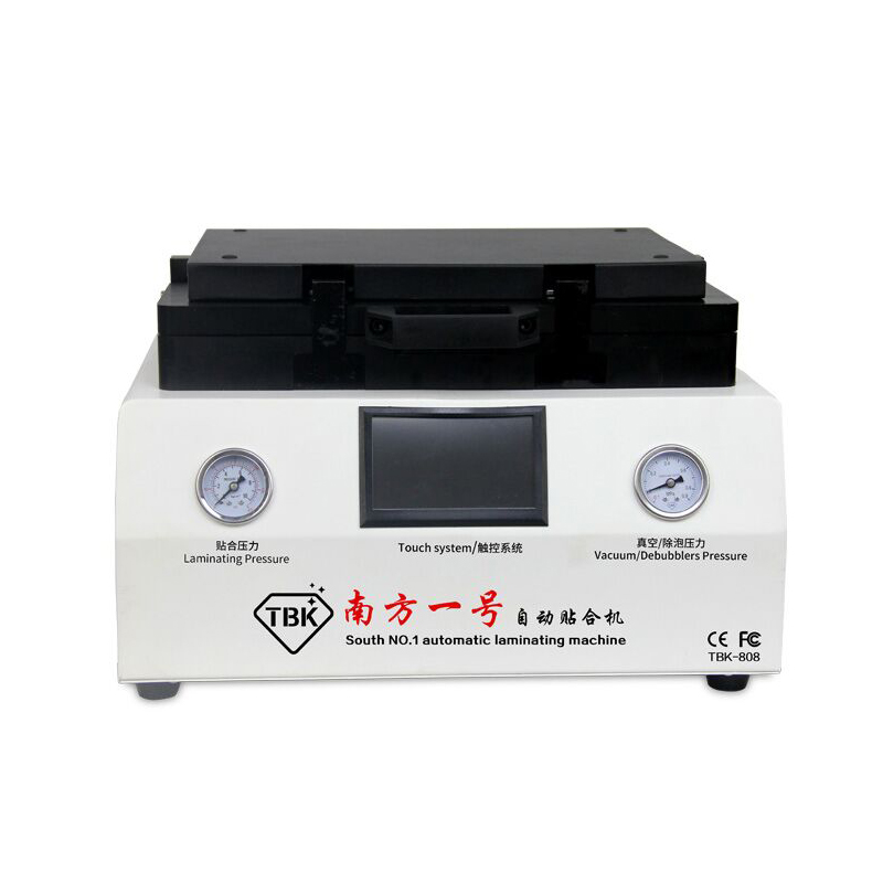 TBK-808 LCD Automatic Laminating And Remover Bubble Machine NO Need Connect Air Compressor And Vacuum Pump 100% NO Bubble