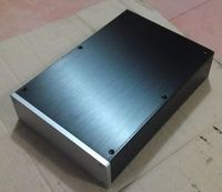 NEW L 2207 Full Aluminum amplifier Enclosure preamp / DAC case DIY
