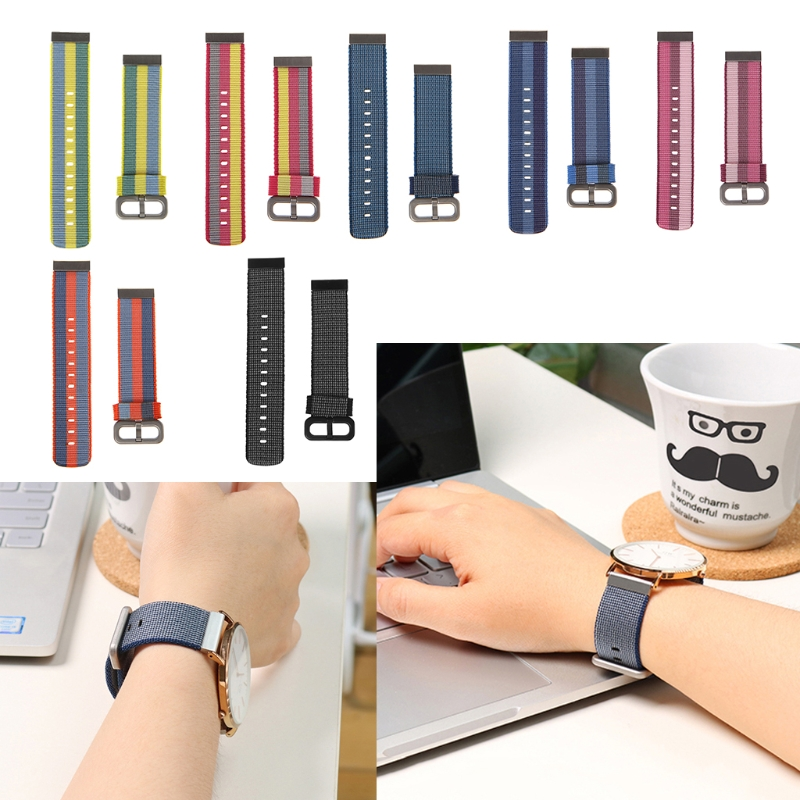 Free delivery 20mm Nylon Braided Wristband Strap For Huami Amazfit Bip PACE Lite Youth Watch hiperdeal breathable watch band lightweight ventilate wrist strap comfortable wristband for huami amazfit bip youth watch