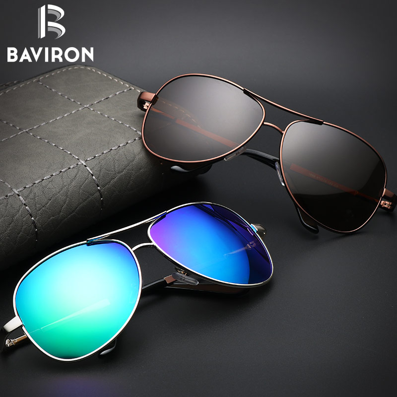 BAVIRON Aviator Sunglasses Men Polarized Sunglasses Mujeres Piloto - Accesorios para la ropa - foto 5
