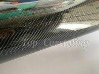 6D Gloss Carbon Fiber Vinyl Wrap For whole car wrap Covering foil sticker PROTWRAPS Like 3M Quality 1.52X20M / 5x67ft