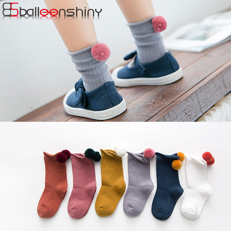 BalleenShiny Venonat Socks Baby Boys Girls Cotton Fashion Socks Soft Comfortable Children Kids Candy Color Princess Socks Gifts