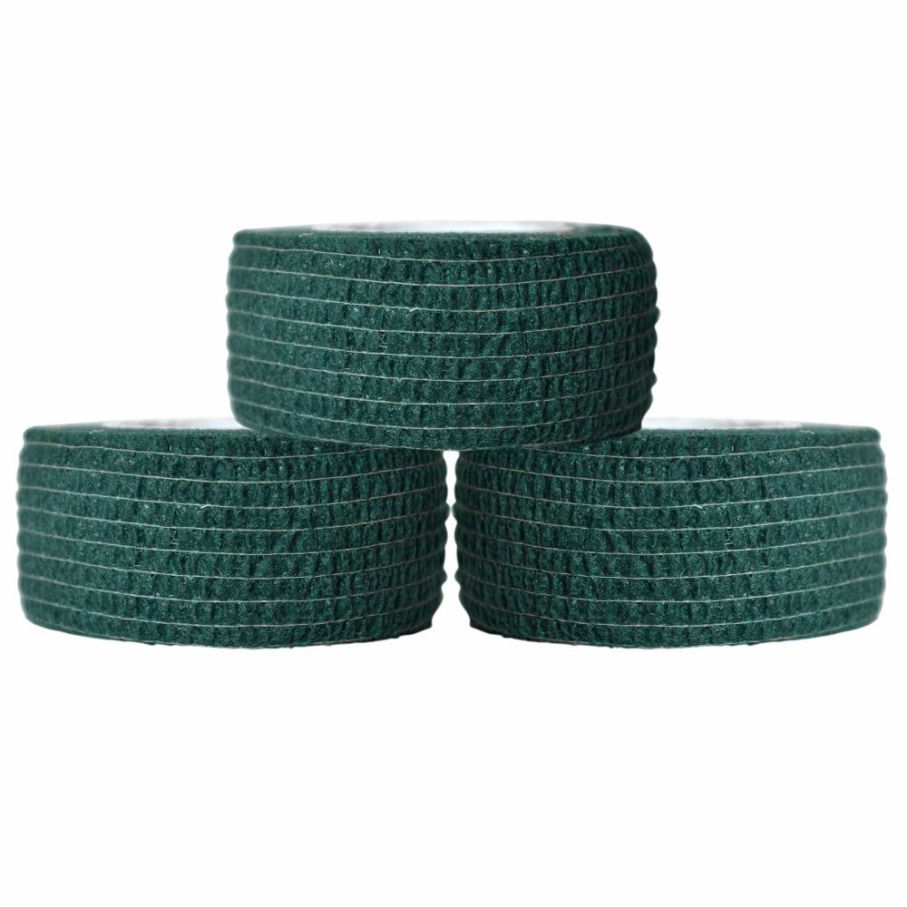 Wholesale 100 pcs cotton bandage self adhasive elastic gauze 2.5cm invisible blue wholesale 2016 new elastic knitted ladies fashion blue beading bandage strap crop top