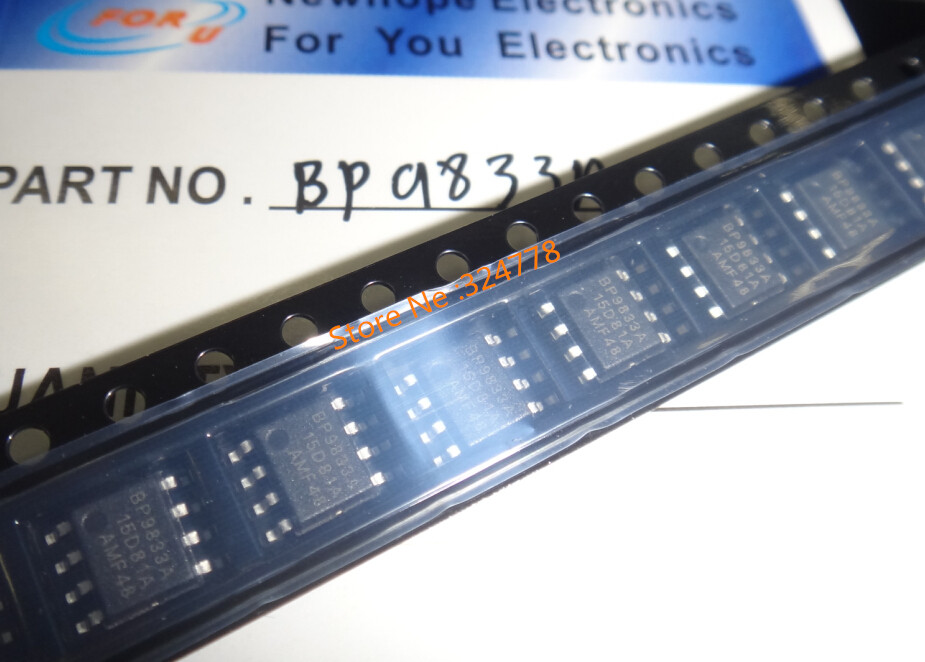 new hope BP9833A BP9833 SOP8 100pcs/lots-in Electronics Stocks from Electronic Components & Supplies