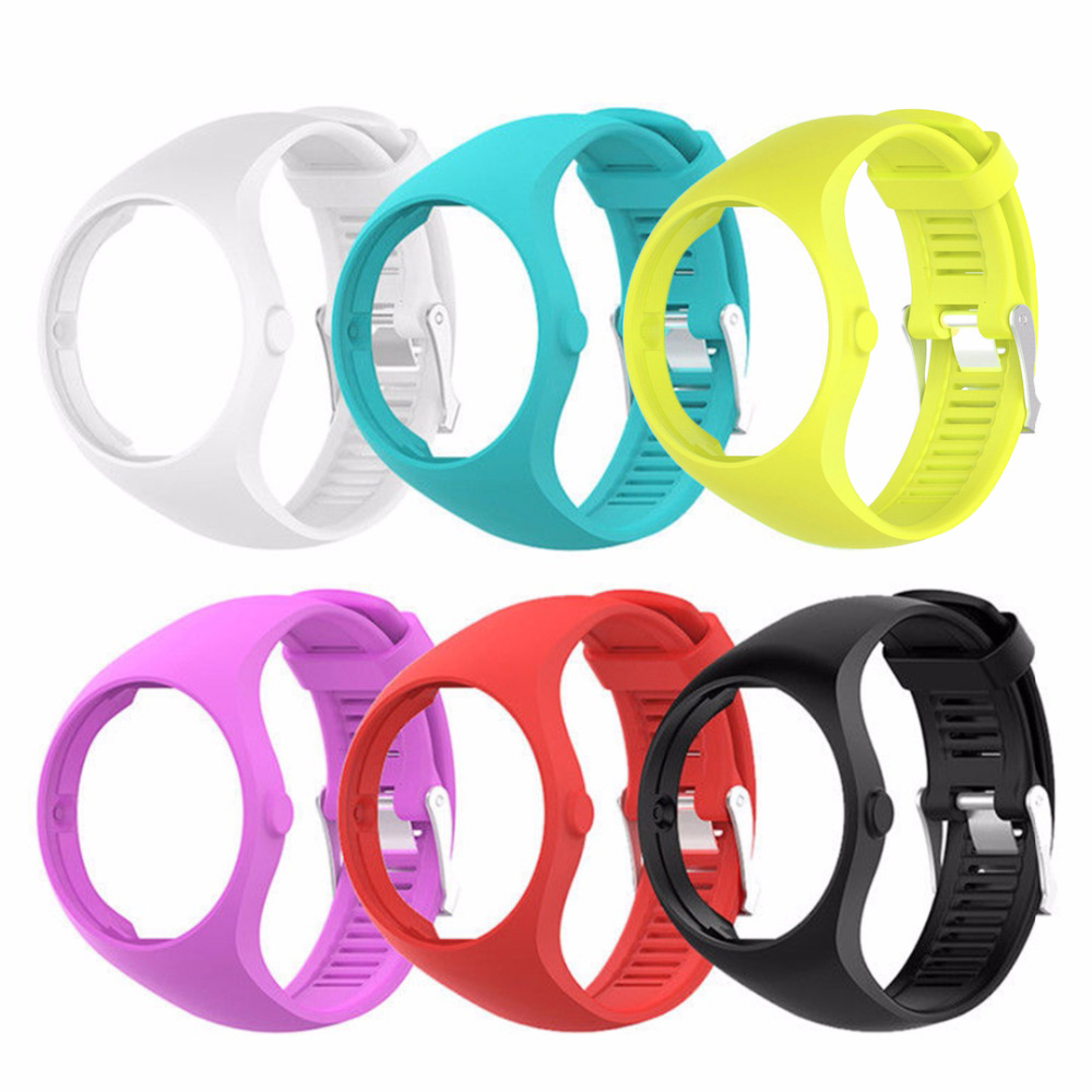 1pcs Soft Silicone Watchband Replacement For Polar M200 GPS Running Smart Watch Smart Accessories Wrist Band Strap Bracelet цена