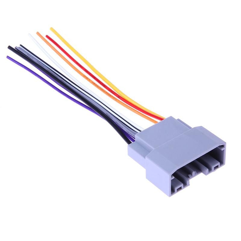 Fabulous Car Stereo Cd Player Wiring Harness Wire Cable Adapter Female Plug Wiring Digital Resources Cettecompassionincorg
