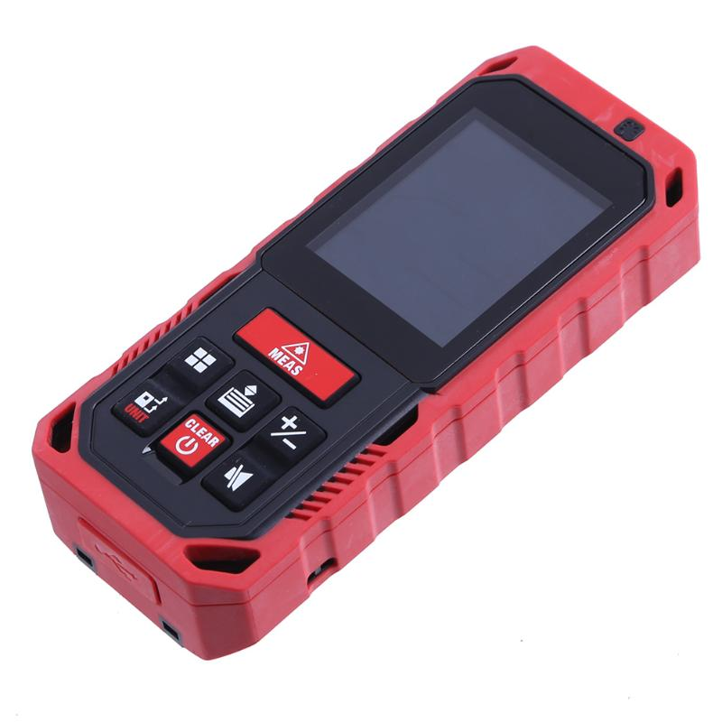 купить 60m/80m Handheld Laser Rangefinders High Precision Digital Infrared Laser Distance Meter Tool for House Measuring Acceptance по цене 4265.48 рублей