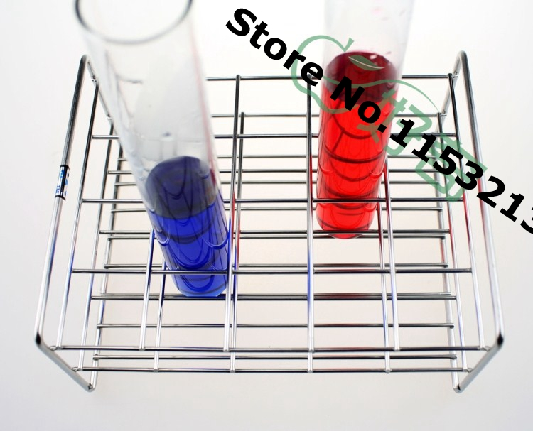 Wire Professional Test Tube Rack Stainless Steel Suitable tube diameter 18mm/19mm/19.5mm/ 30 holes 316l stainless steel wire soft diameter 1mm length 5 meter