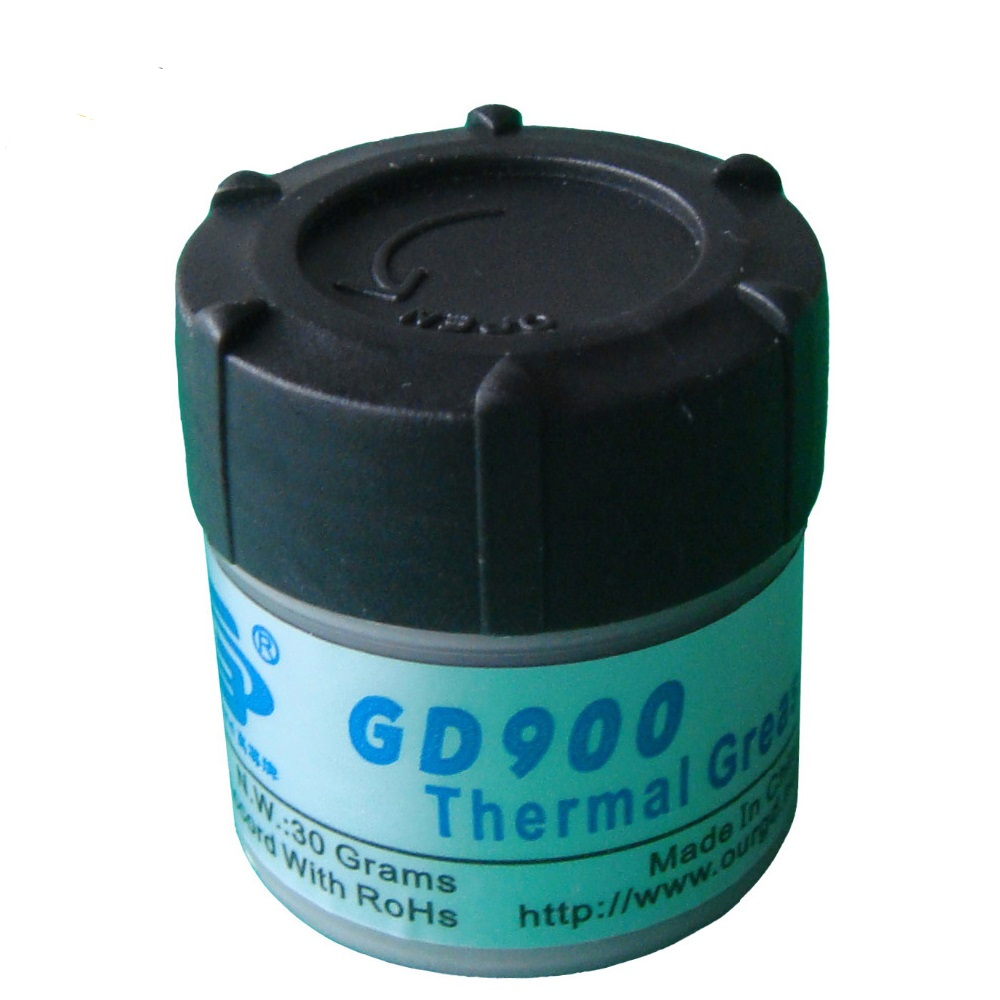 30g Gray Nano GD900 Containing Silver Thermal Conductivity Grease Paste Silicone Heat Sink Compound 6.0W/M-K For CPU