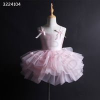 2018 new sexy fashion children's dance costumes ballet pink performance dress for girl free shipping hot sale