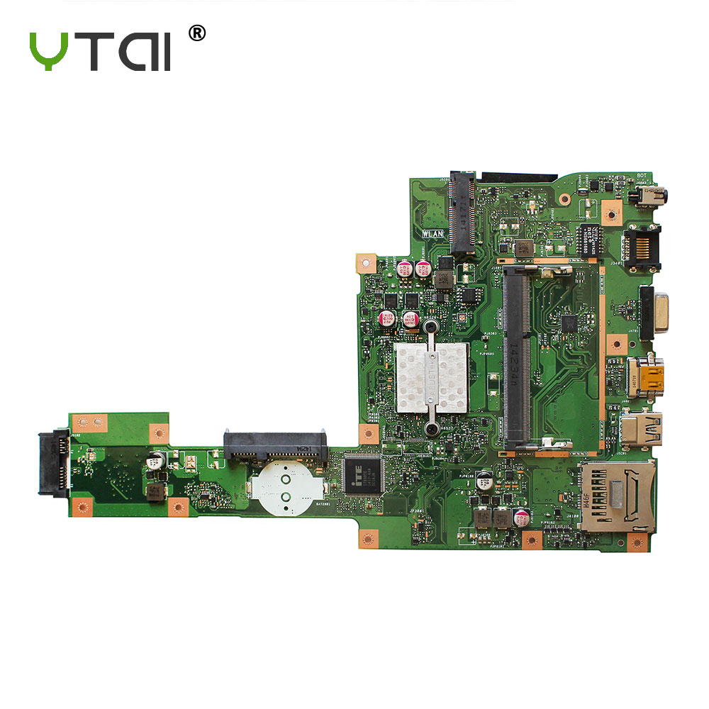 YTAI X553MA X503M Mianboard FOR ASUS X503M F553MA F553M X553MA laptop motherboard with SR1W4 N2830U REV2.0 USB3.0 mainboard все цены