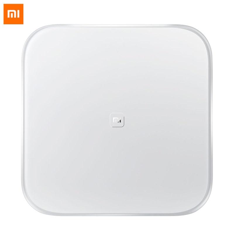 D'origine Xiaomi Échelle Mi Smart Balance de Soutien Android 4.4 iOS 7.0 Ci-dessus Bluetooth 4.0 Xiaomi Perdre Du Poids Échelle Numérique
