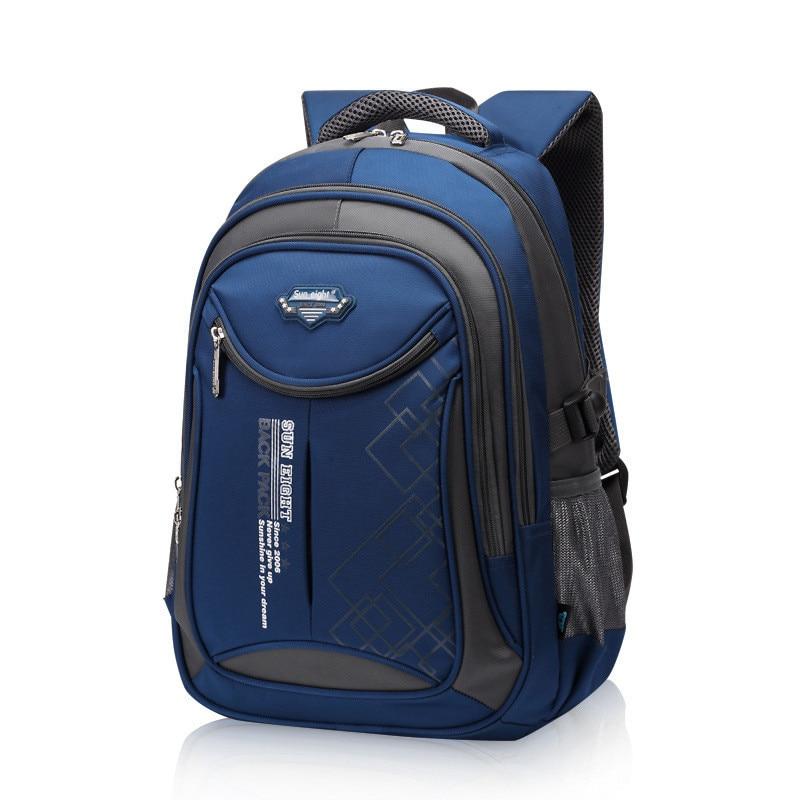 2017 hot new children school bags for teenagers boys girls orthopedic school backpack waterproof satchel kids book bag mochila new style school bags for boys