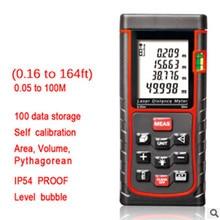 On sale Sndway SW-E60 digital laser range finder distance tape measure roulette meter trena rangefinder Electronic ruler 60m