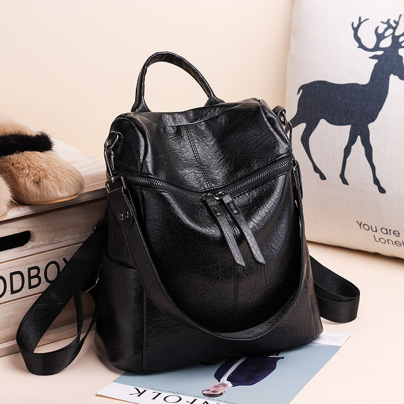 New Men Anti Theft Backpack USB Rechargeable Crossbody Women Bags Boys Girls Single Shoulder Bag Backpacks
