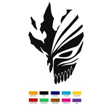 Anime Stickers Bleach Motorcycle Decal Laptop for Car 15--10cm Hollow-Mask Ichigo