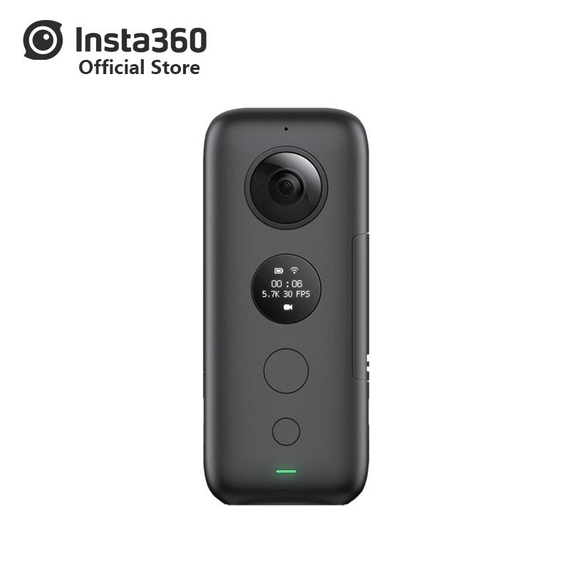Insta360 ONE X Sport caméra d'action 5.7 K Vidéo VR 360 Pour iPhone et Android