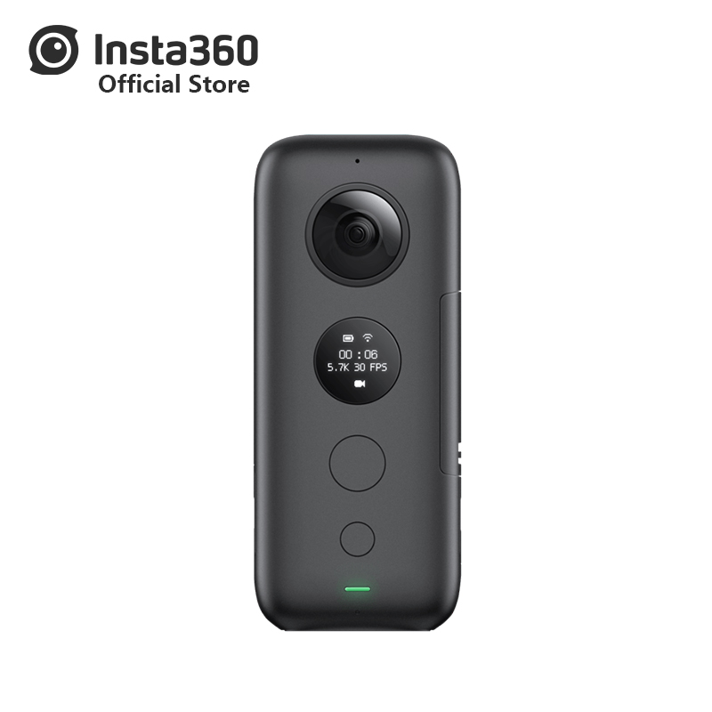 Insta360 One X Sports activities Motion Digital camera 5.7K Video Vr 360 For Iphone And Android