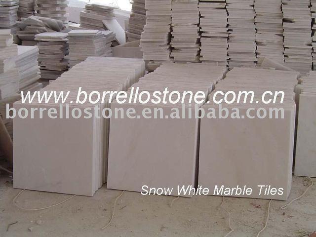 """Chinese white marble tiles 12""""x12""""x3/4,White marble,snow white marble"""