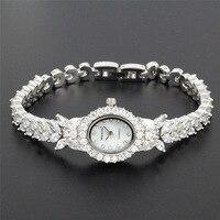 2016 Hight Quality Luxury Vintage Oval Women White Jewelry 18k Pt Lady Fashion Jewelry HS0013W