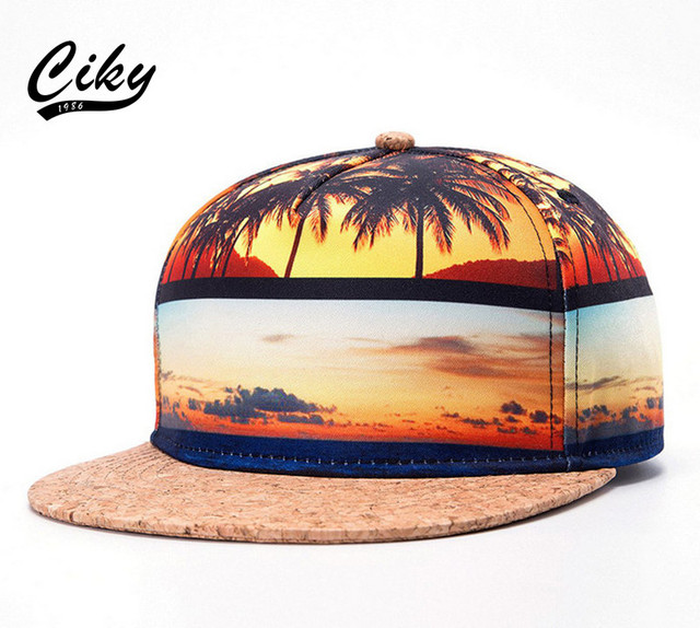 Nova marca de alta qualidade boné de beisebol menino menina Flat-abas largas Gorras Snapback Cap Ao Ar Livre 3D Impresso Praia Sol Hip Hop chapéu