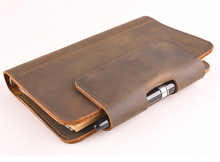 leather a6 notebook