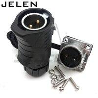 XHE20, IP67 2pin Водонепроницаемый разъемы, светодио дный кабель питания разъем мужчина и женщина, разъем автомобиля, электрические розетки