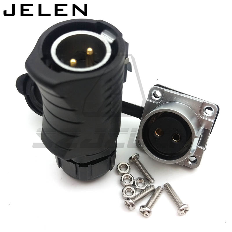 XHE20, IP67 2pin Waterproof connectors, LED power cable connector male and female, car connector, electrical power plug socket xhe20 ip67 4pin waterproof connectors 4 pins power cable connector male and female automotive connectors plug and socket