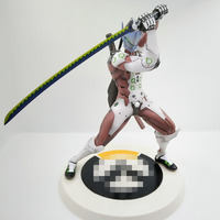 30 CM Game OW Ninja Shimada Genji Joints Moveable Action Figure Model Toys Collections