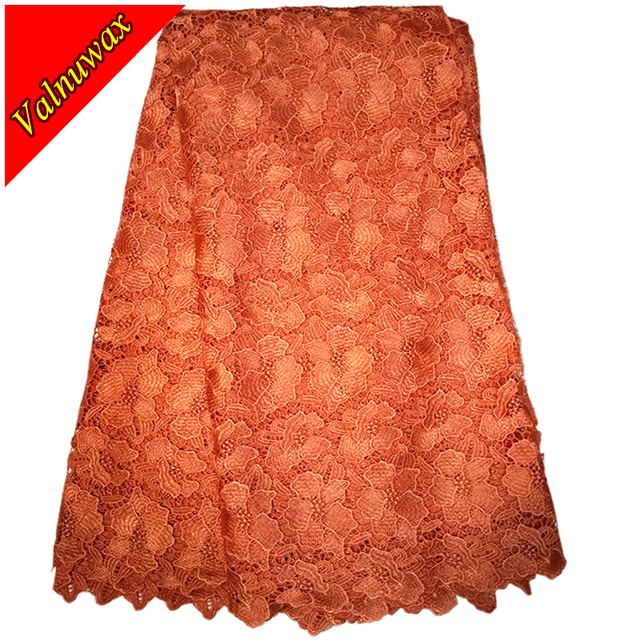 High quality African Lace Fabric for nigerian wedding african lace fabric / guipure cord lace fabric for wedding-YJ