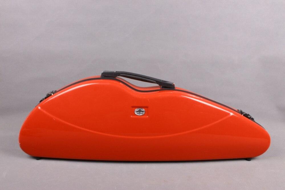 Yinfente стекловолокна Скрипки Чехол Красный 4/4 vnf1005