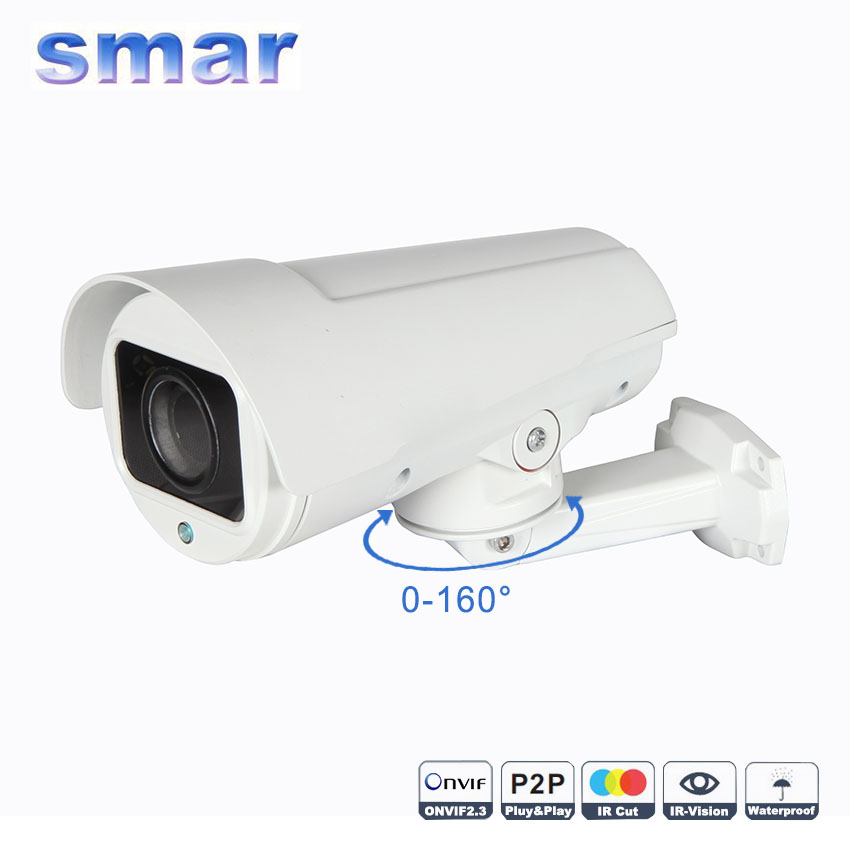 Smar HD 960P 1080P Outdoor Waterproof PTZ IP Camera Built-in IR-CUT Filter Night Vision H.264 Security Camera smar home security 1000tvl surveillance camera 36 ir infrared leds with 3 6mm wide lens built in ir cut filter