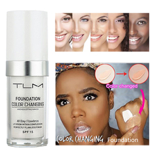 Amazing 30ML Color Changing Liquid Foundation Makeup Base Nude Face Cover Concealer Skin Tone Oil-control Brighten