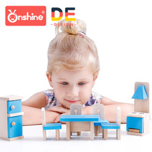 Onshine Wooden Simulation Small Furniture House Toys Diy Cosplay A Decoration Parts
