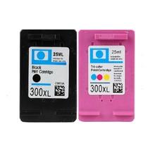 2x CC640E CC643E Replacement Ink Cartridge for HP 300 DeskJet F4280 F4283 F4288 F4580 F4583 Printer