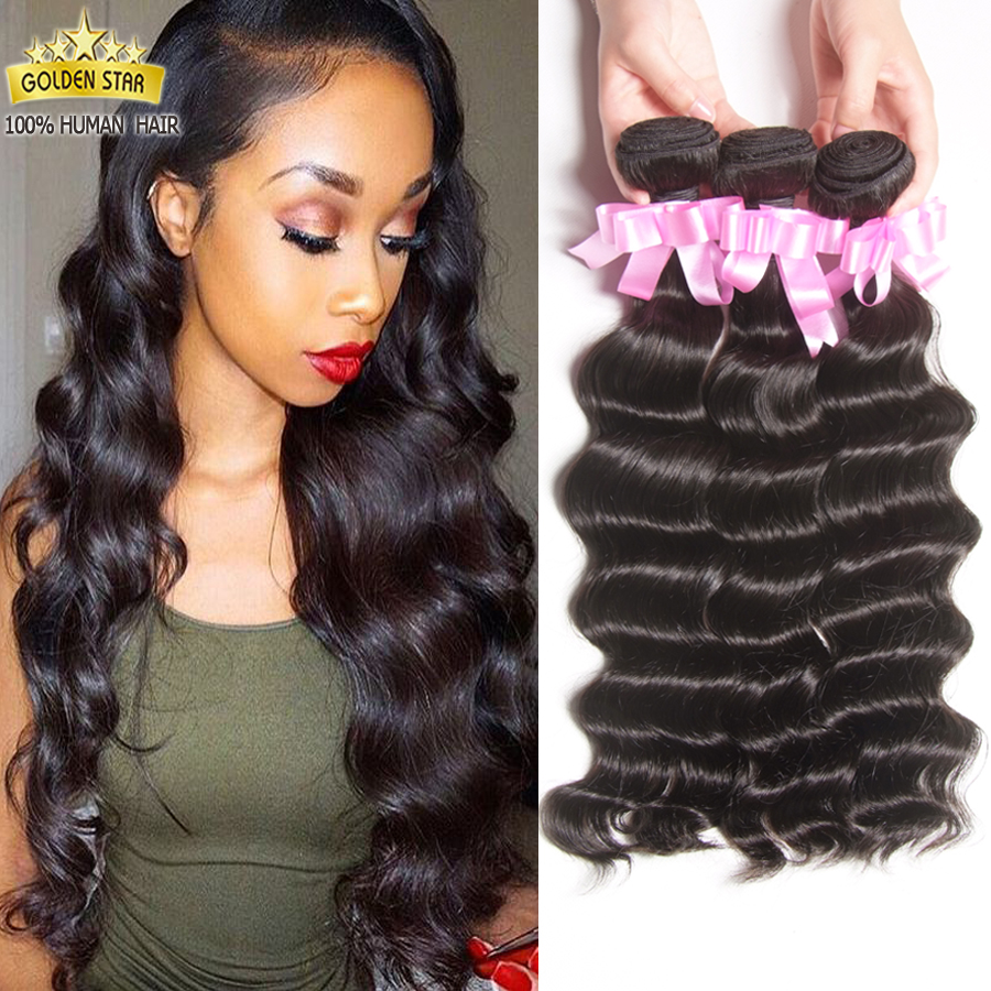 7a Indian Virgin Hair 3 Bundles Weave Ocean Wave Wet And Wavy Human Modern Show Company Loose Deep On Aliexpress Alibaba